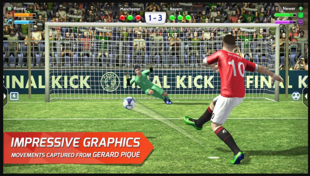 Final kick 2020 Best Online football penalty game