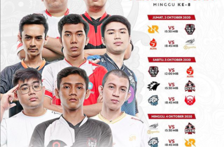 Jadwal MPL Indonesia Season 6 Week 8